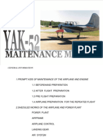 Yak 52 Maitenance Manual