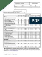 Maintenance Schedule ACS800