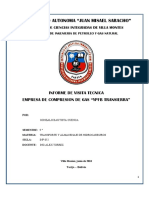Informe de Visita Tecnica YPFB TRANSIERRA