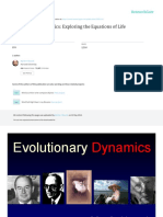 Evolutionary Dynamics Exploring the Equations of L