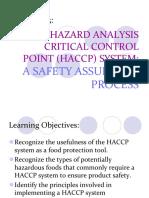 Chapter 3 HACCP (1)