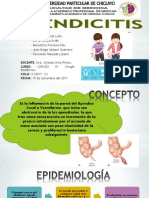 Apendicitis - g6 - Cx Pediatrica PDF