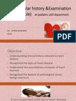 Cardiovasular Hx&Ex Skill Depatrtment