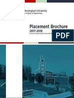 Placement Brochure 2017-18
