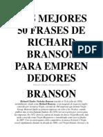 Las Mejores 50 Frases de Richard Branson Para