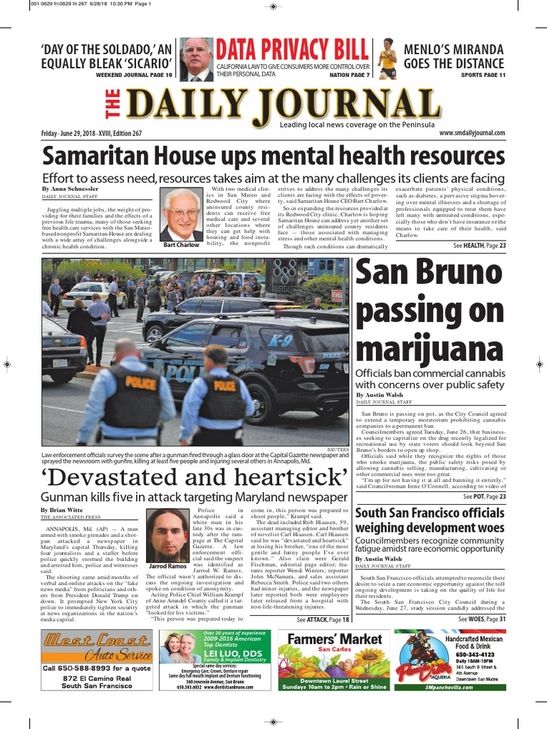 06-29-18 edition | Cannabis (Drug) | Restaurant And Catering on