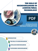 Week-10 Microorganisms and Agricultural Technology