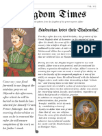 Medival Newspaper Project