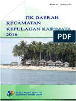 Statistik Daerah Kepulauan Karimata 2016