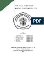 Contoh Leaflet Perawatan Kaki Diabetes