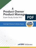 POPM4 Study Guide