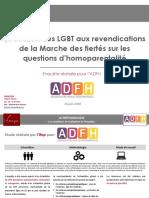 Sondage Ifop pour l'AFDH