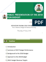 HMBNP 2018 Approved Budget Breakdown Presentation Final Draft III