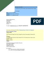 List Potential Company 2007