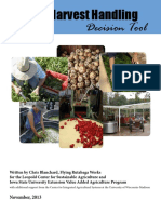 2013 11 Post Harvest Handling Decision Tool