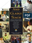 And Gladly Teach 2nd Edition