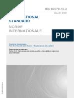 IEC 60079-10-2 - Classification of Hazardous Areas - 2015