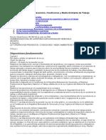 Ley Organica Prevencion Condiciones y Medio Ambiente Trabajo Venezuela