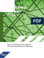 Scaffolding Contract 2014