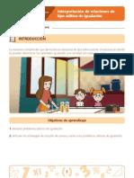 CONTENIDOS PARA APRENDER  MATEMATICA   4 RECHO BÁSICO DE APRENDIZAJE 1