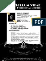 Resume - Axel A. Giaroli