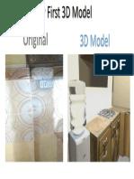 My First 3D Model