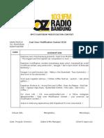 Konten Publikasi Oz Radio