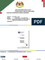 00. Taklimat Dokumen Kualiti 2017