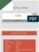 Herpes Zoster Ppt Dr Arif Spkk