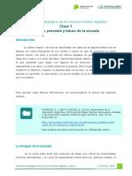 Clase 1 - Inclusión Pedagógica de Los Nuevos Medios Digitales