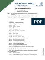 Ley de turismo, ocio y hospitalidad de la Comunitat Valenciana