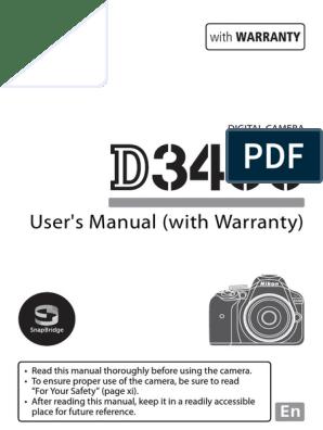 D3400UM_EU(En)03   Electromagnetic Interference   Battery