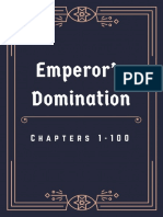 Emperor's Domination - Chapters 1 - 100