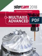 Mastercam 2018 Multiaxis Advanced Training Tutorial SAMPLE
