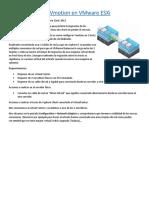Como Configurar Vmotion en VMware ESXi