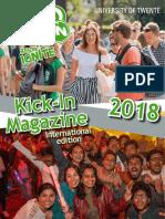 Kick-In Magazine 2018 - International Edition