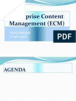 Enterprise Content Management (ECM) Presentation