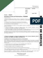 BS 61_15 - Assistncia Tcnica de Pulverizadores - BS3020H