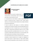 La Competitividad rial de Colombia, Tendencias