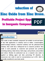 Production of Zinc Oxide from Zinc Dross