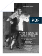 MMO - Astor Piazzolla Histoire Du Tango for Flute & Guitar (C)