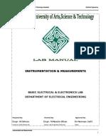 Instrumentation Manual