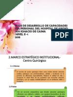 Acciones Estrategicas, Area RR.hh., Ministerio Salud Bolivia, 2015