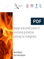 Protective Clothing for Firefighters - Project T-Pot
