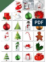 Printable Memory Game Christmas