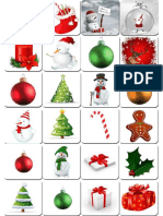 Printable Memory Game Christmas