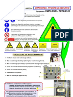 Fiche Securite Poste Multitec