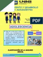 Crecimiento y Desarrollo Del Adolescente