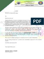 Stakeholders Forum Invitation Letter