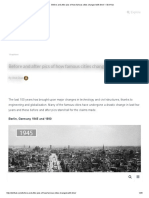Before and After Pics of How Famous Cities Changed With Time! – Skit Hub